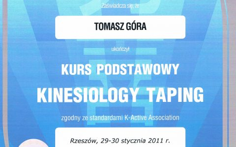 Kinesiology Taping podstawowy