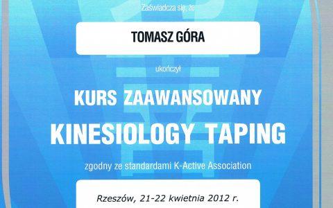 Kinesiology Taping zaawansowany