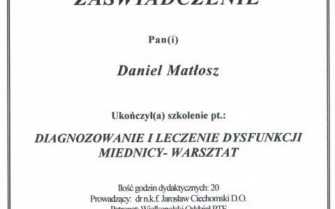 Diagnozowanie i leczenia dysfunkcji miednicy