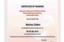 Kinetic Control – kręgosłup szyjny i obręcz barkowa
