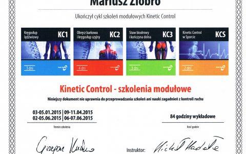 Kinetic Control – szkolenie modułowe