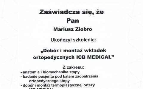 Wkładki ICB Medical